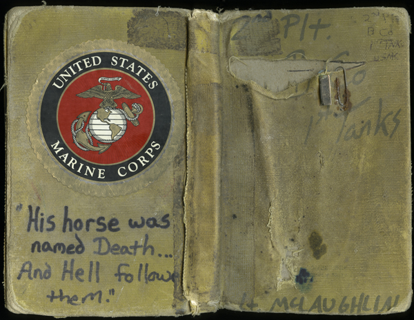 ©The Diaries of Lt. Timothy McLaughlin USMC